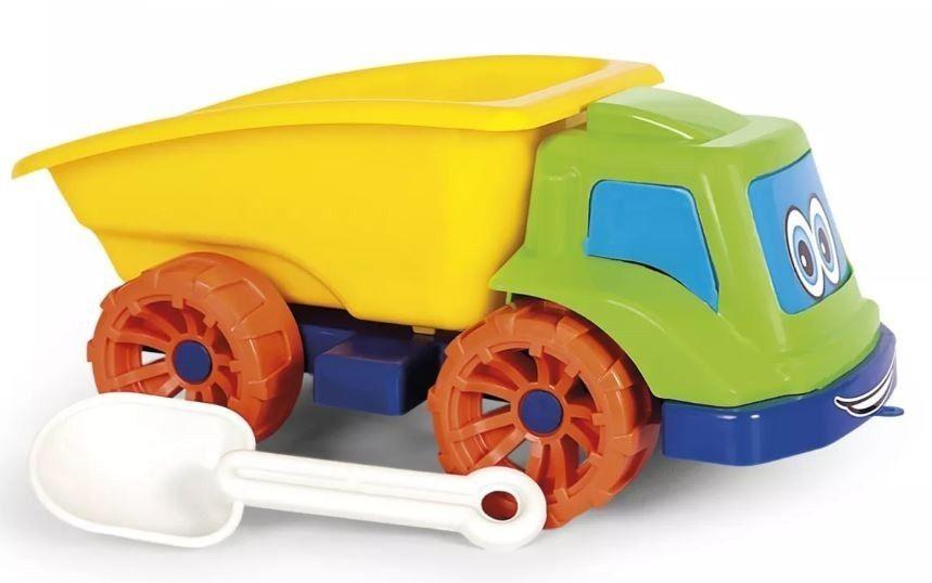 Caminhão Caçamba Baby Frota com Pá - Poliplac