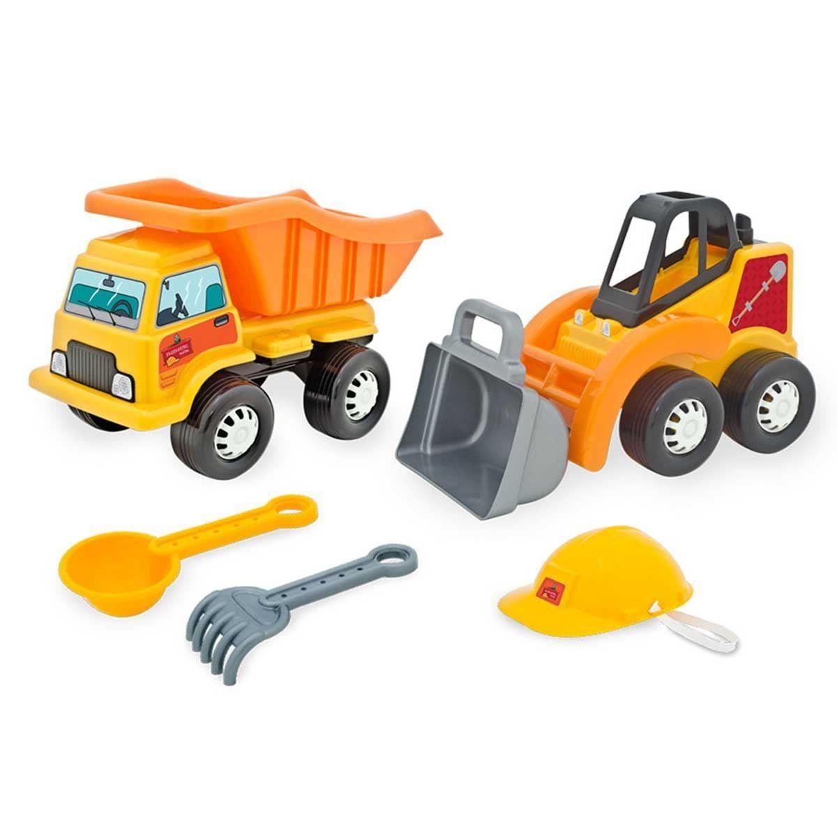 Caminhão e Trator Engenheiro Mirim Coleção Mirim - Tilin Brinquedos