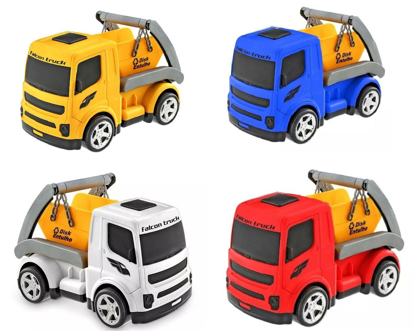 Caminhão Falcon Truck Entulho - Usual Brinquedos