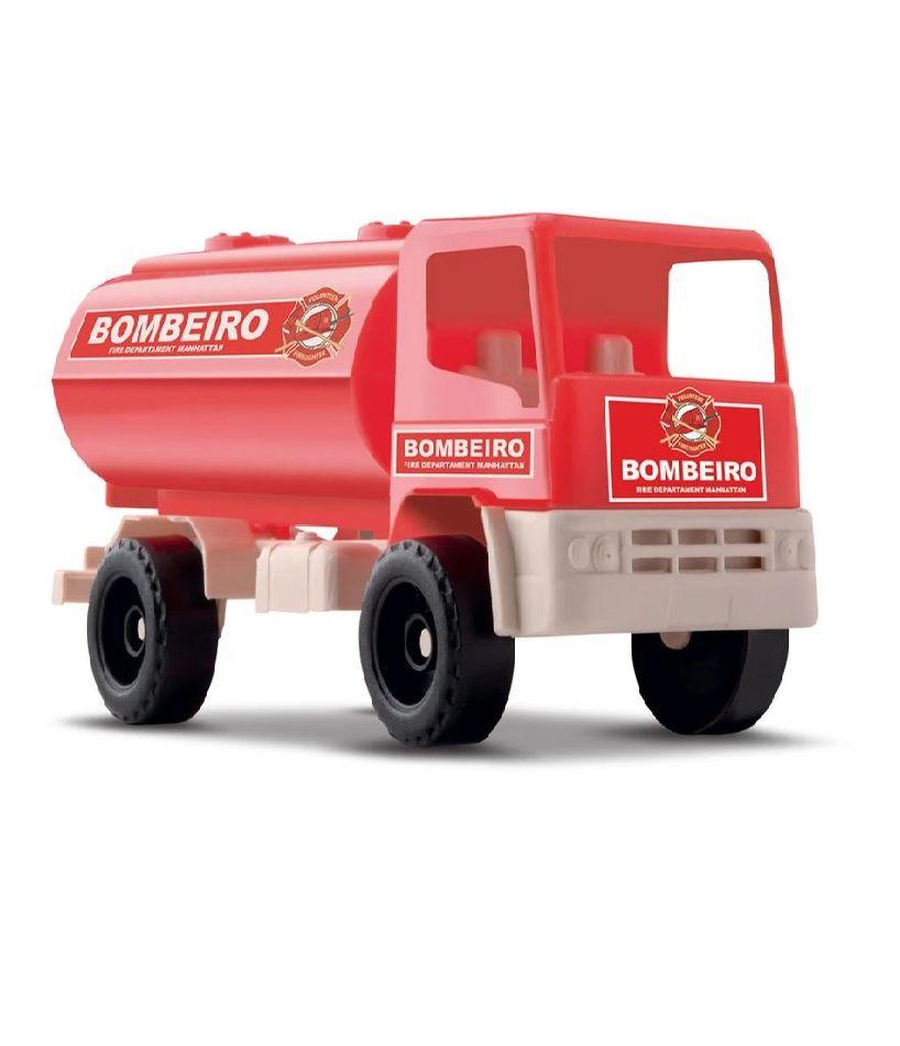 Caminhão Fire Fighter Bombeiro - Samba Toys