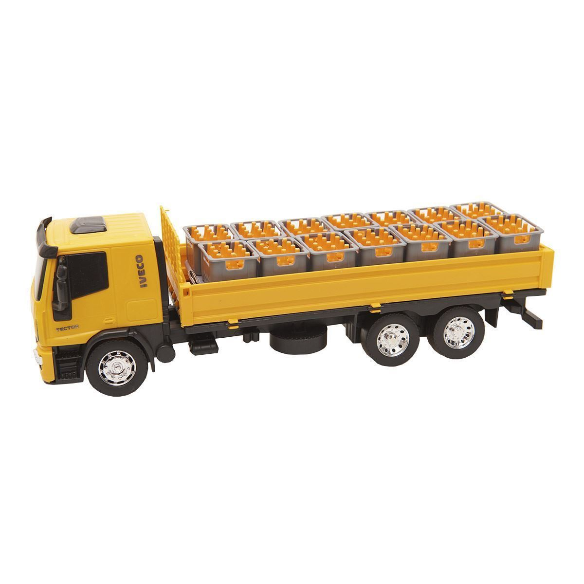 Caminhão Iveco Tector Dropside Sortidos - Usual Brinquedos