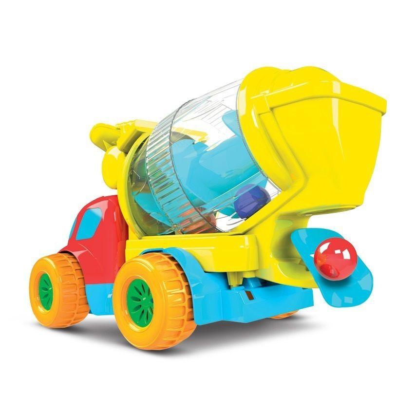 Caminhão Robustus Betoneira de Bolinhas - Diver Toys