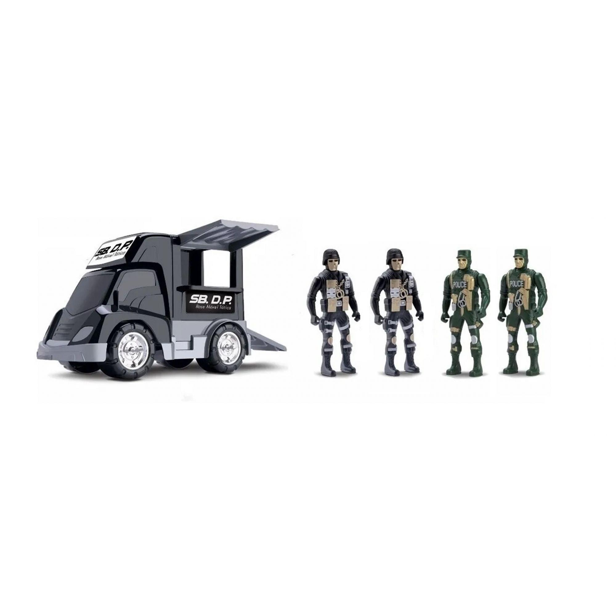 Caminhão SB. D.P. Base Móvel Tática - Samba Toys