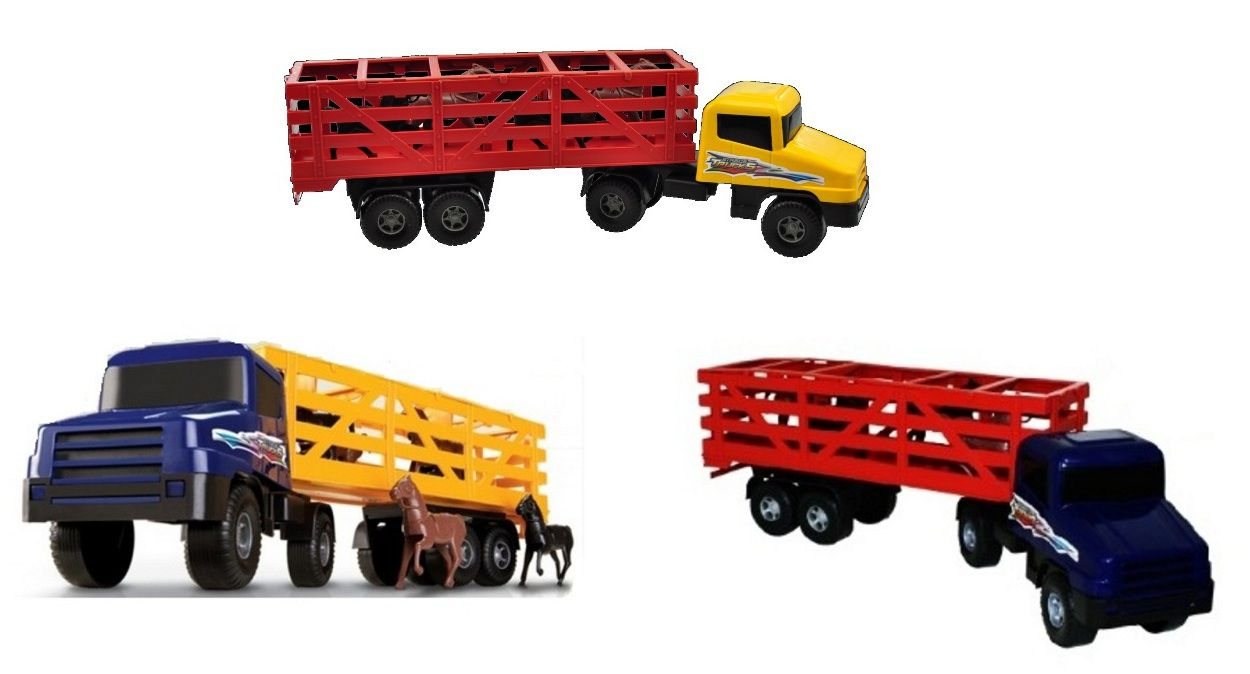 Caminhão Strada Trucks com Cavalos - Silmar
