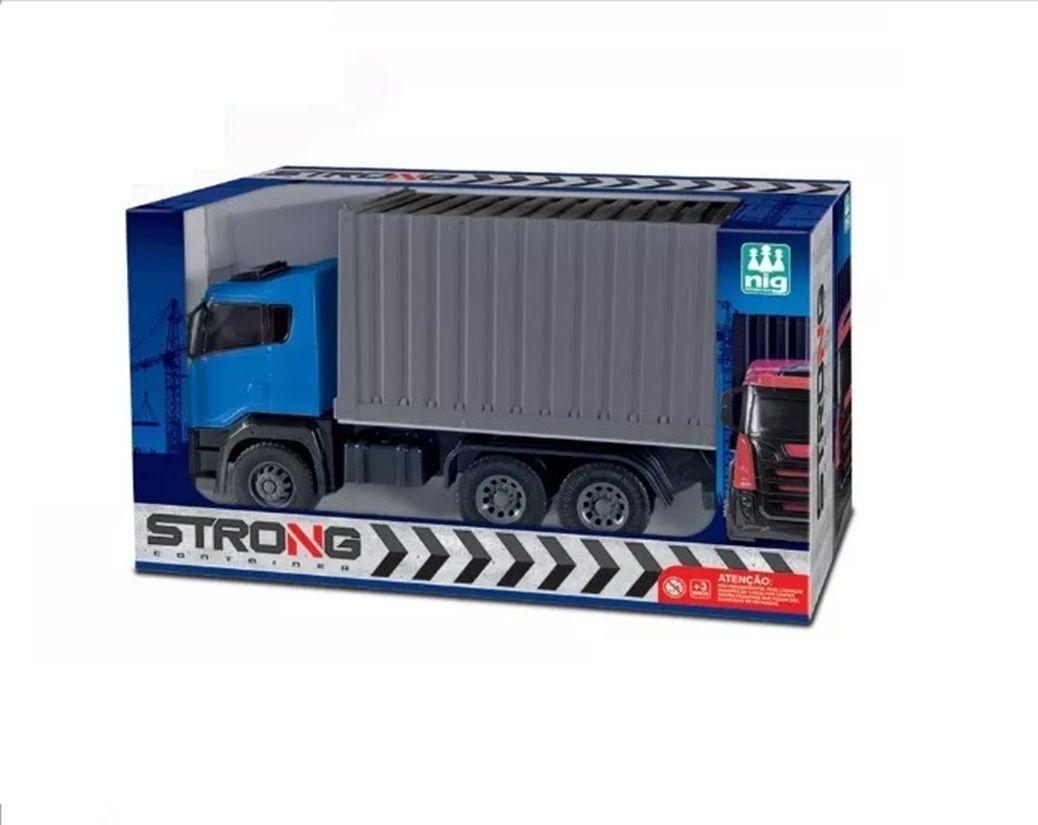 Caminhão Strong Container Sortidos - Nig Brinquedos