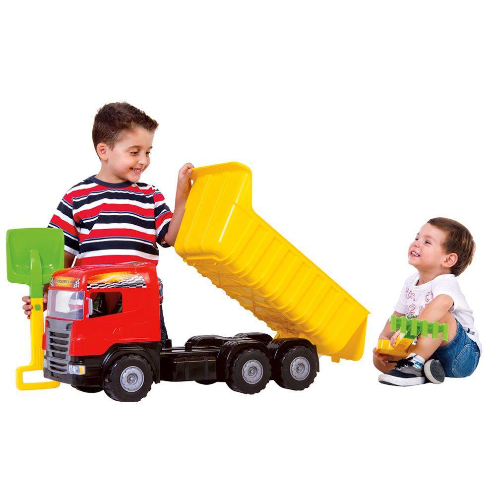 Caminhão Super Caçamba - Magic Toys