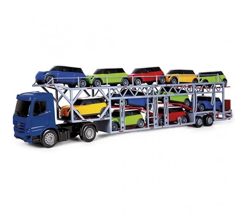 Caminhão Super Frota Transcar Cegonheira Sortidos - Poliplac