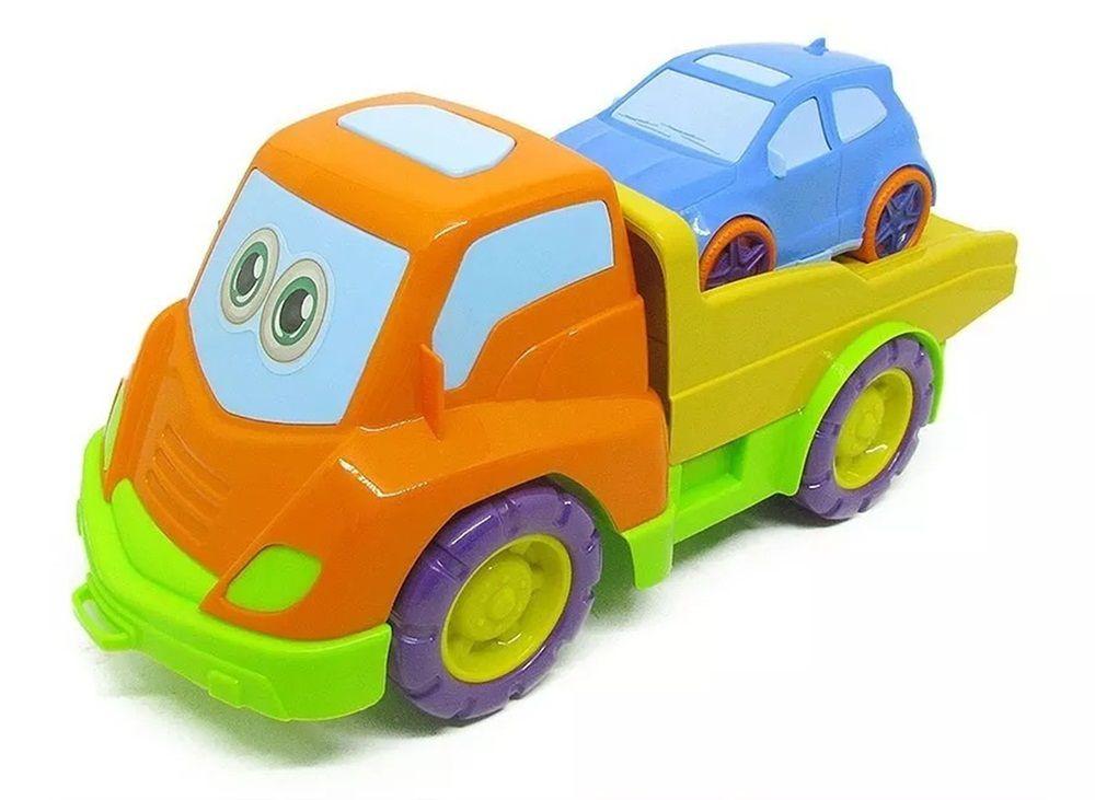 Caminhão Tchuco Baby Guincho - Samba Toys