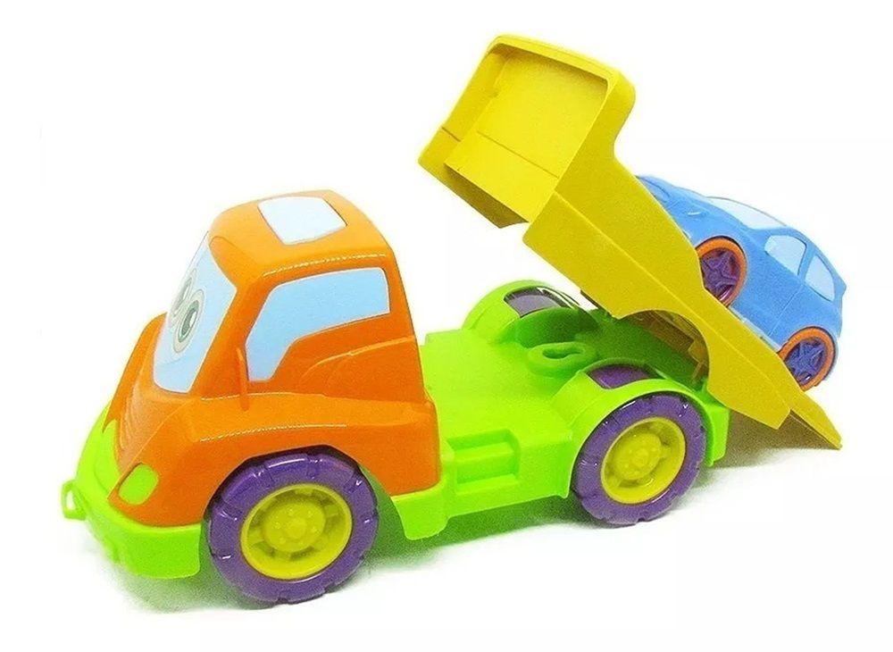 Caminhão Tchuco Baby Guincho Sortidos - Samba Toys