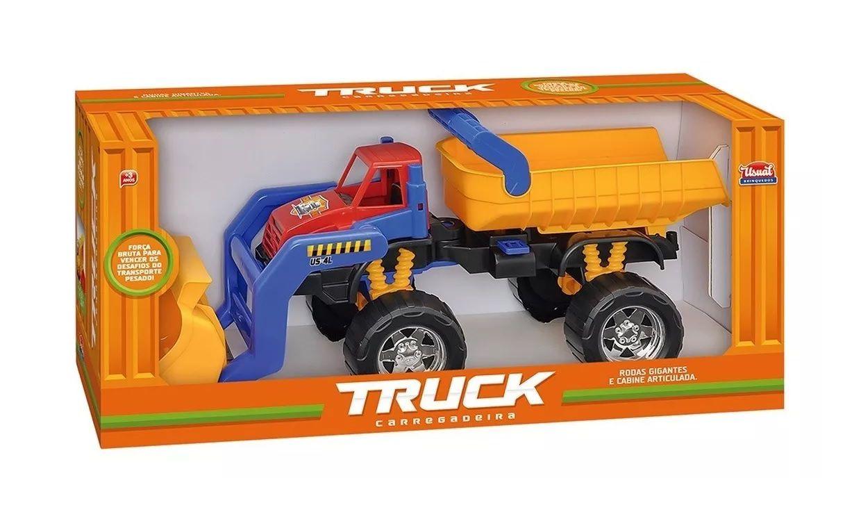 Caminhão Truck Carregadeira Sortidos - Usual Brinquedos