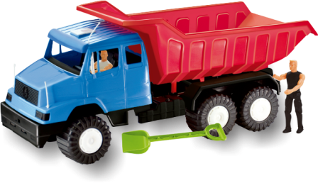 Caminhão Turbo Caçamba Sortidos - Apolo Brinquedos