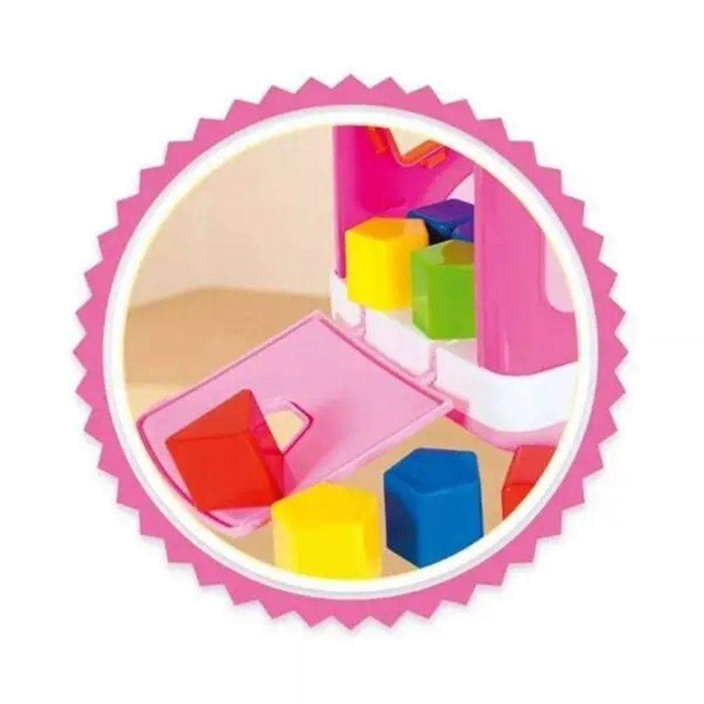 Caminhãozinho Didático For Baby Rosa - Super Toys