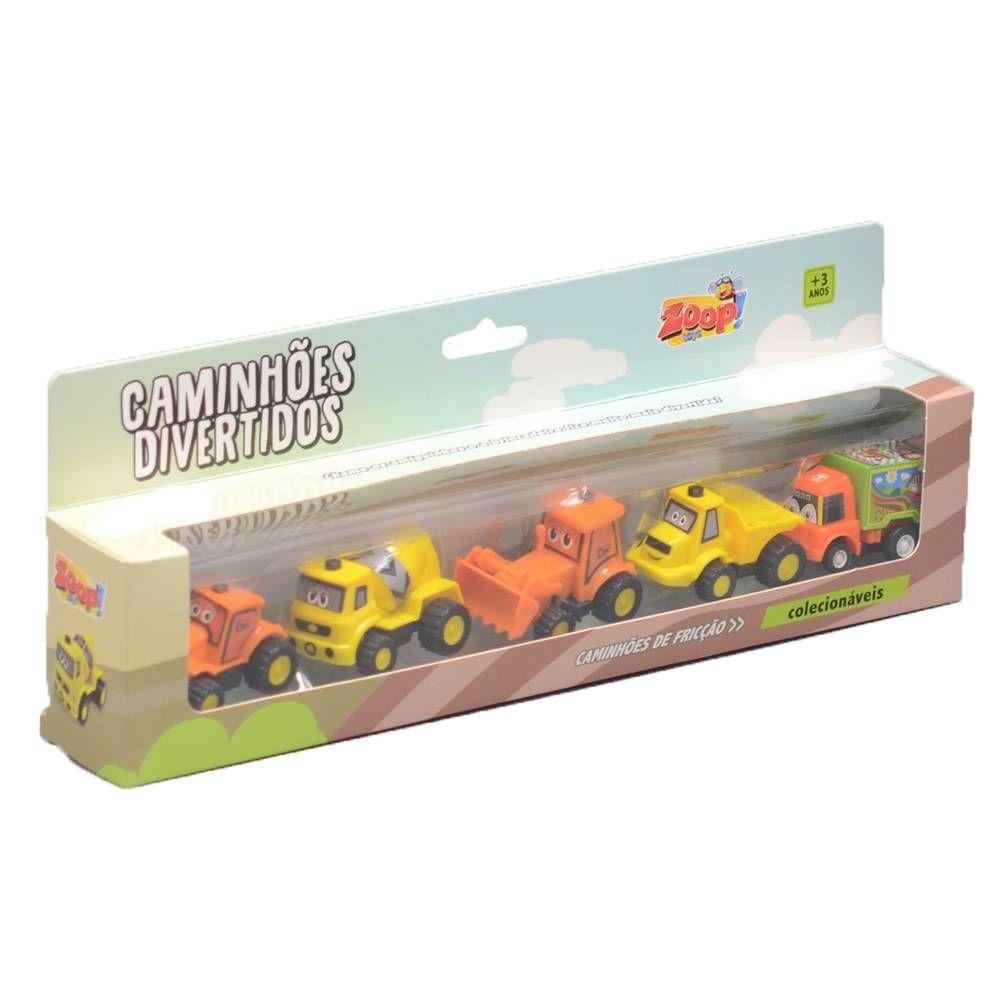 Caminhões Divertidos de Fricção - Zoop Toys