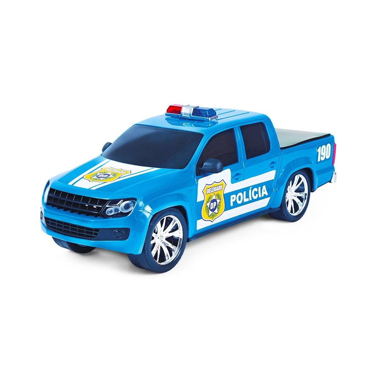 Caminhonete Força e Ação Polícia - Poliplac