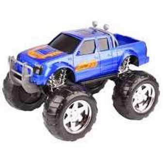 Caminhonete Nitrus Off Road - Azul/ Vermelho - Usual Brinquedos