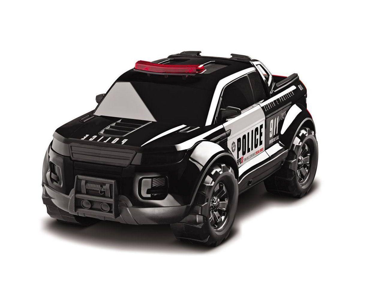 Caminhonete Pick-up Force Police - Roma Brinquedos