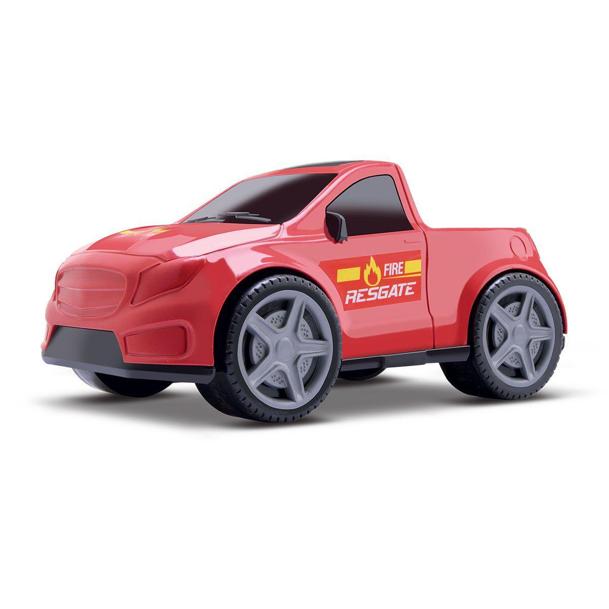 Caminhonete Samba Car Bombeiro - Samba Toys