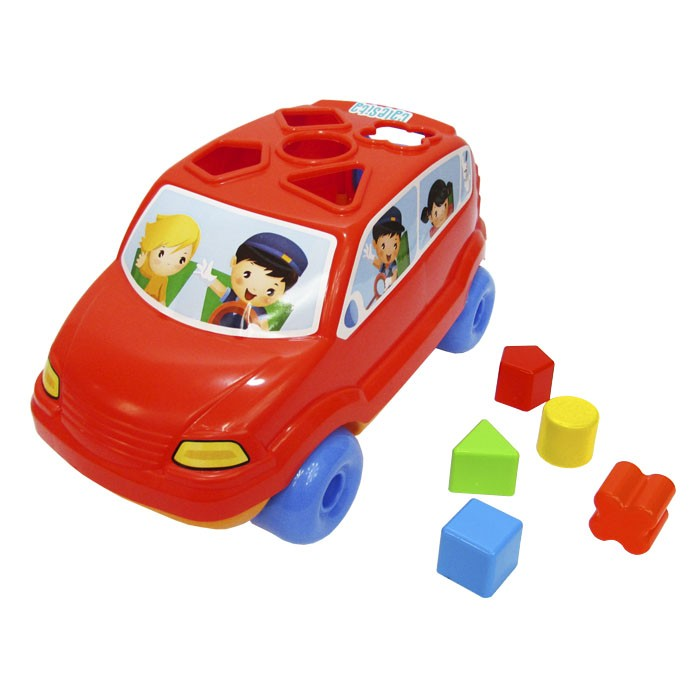 Carrinho Baby Car Didático - Calesita