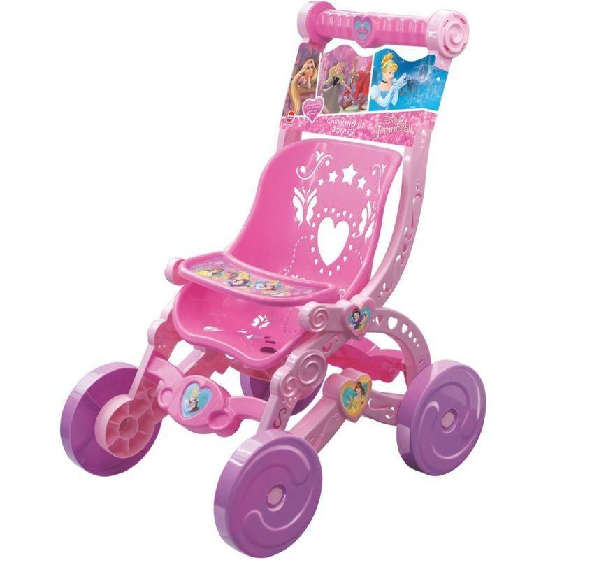 Carrinho de Boneca Disney Princesas - Lider Brinquedos
