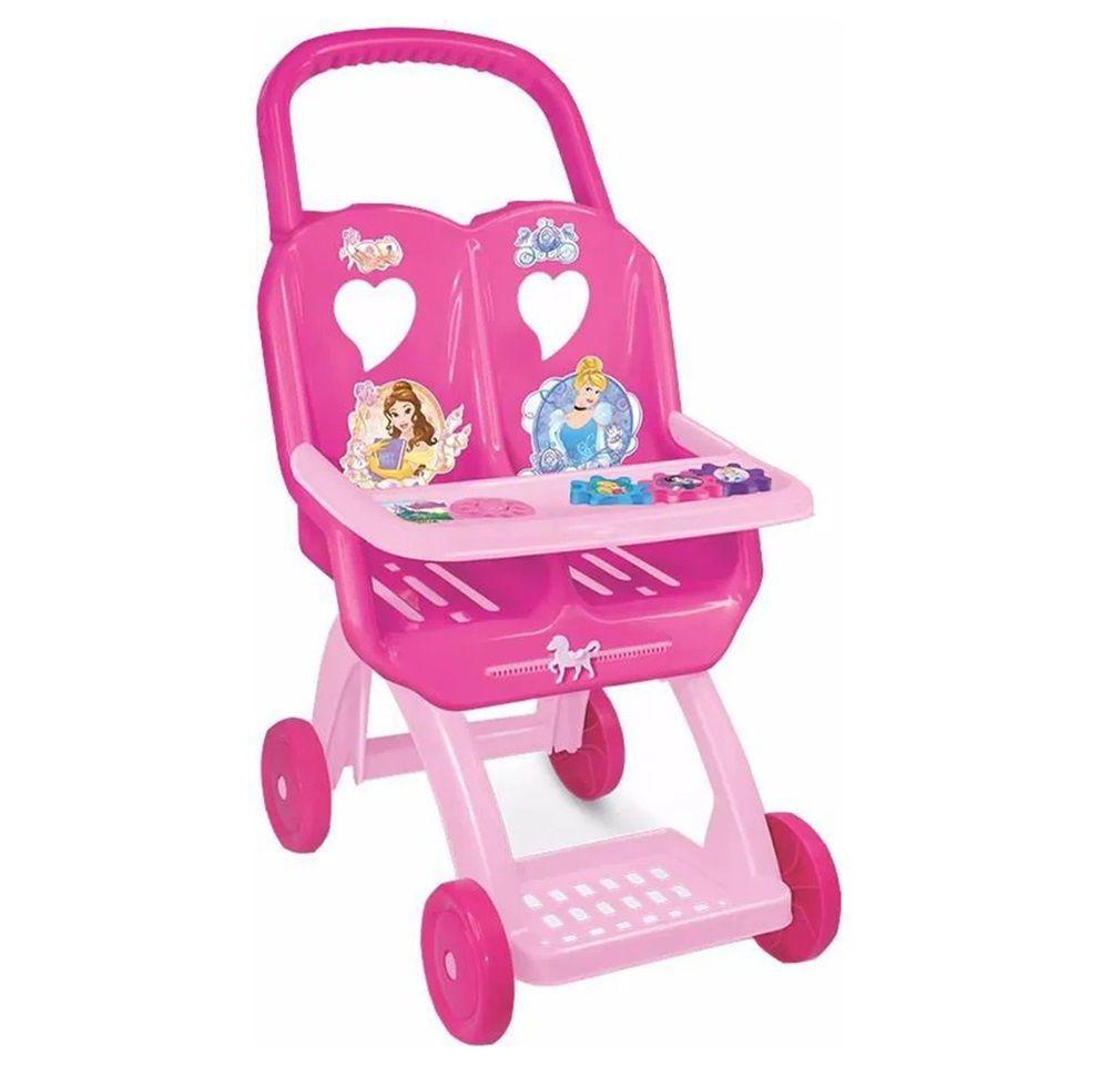 Carrinho Duplo de Boneca Disney Princesas - Lider Brinquedos