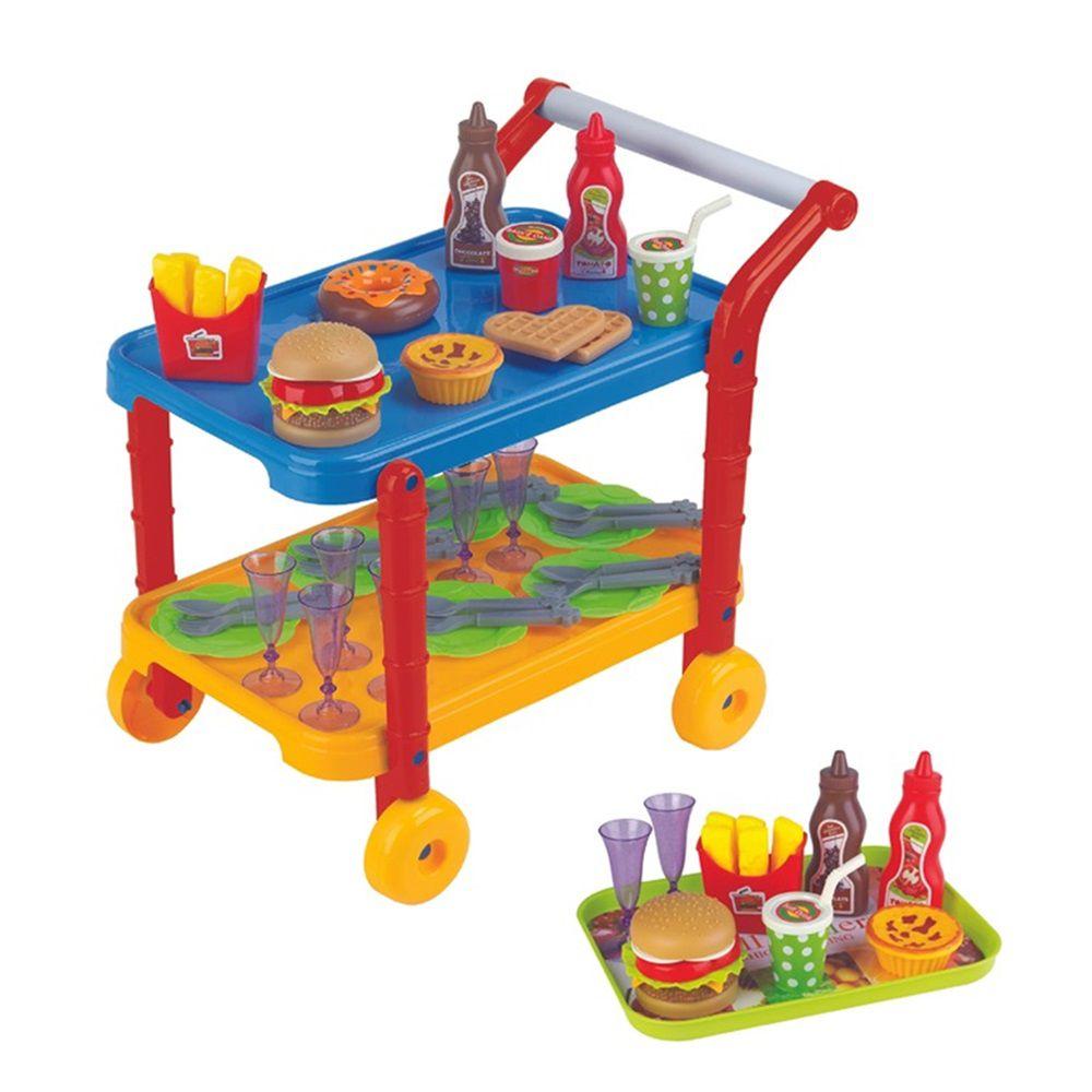 Carrinho Gourmet Hamburgueria - Fenix Brinquedos