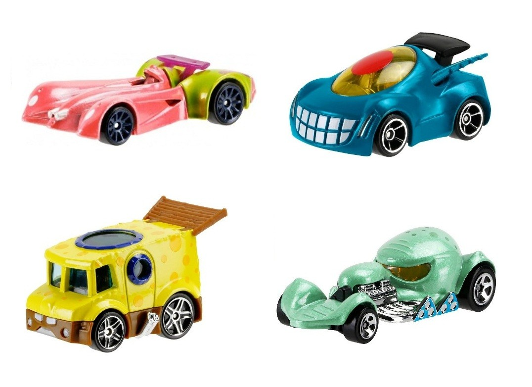 Carrinho Hot Wheels Spongebob Squarepants - Mattel