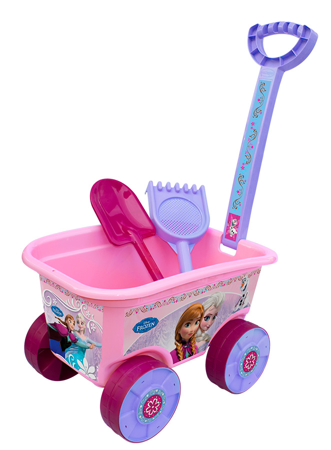 Carriola Wagon Passeio Frozen - Multibrink