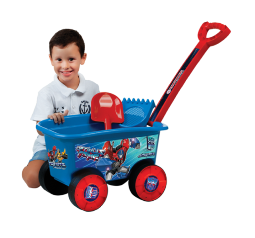 Carriola Wagon Passeio Transformers - Multibrink