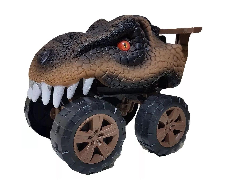 Carro Animals Off Road Tiranossauro Rex com Som - Usual Brinquedos