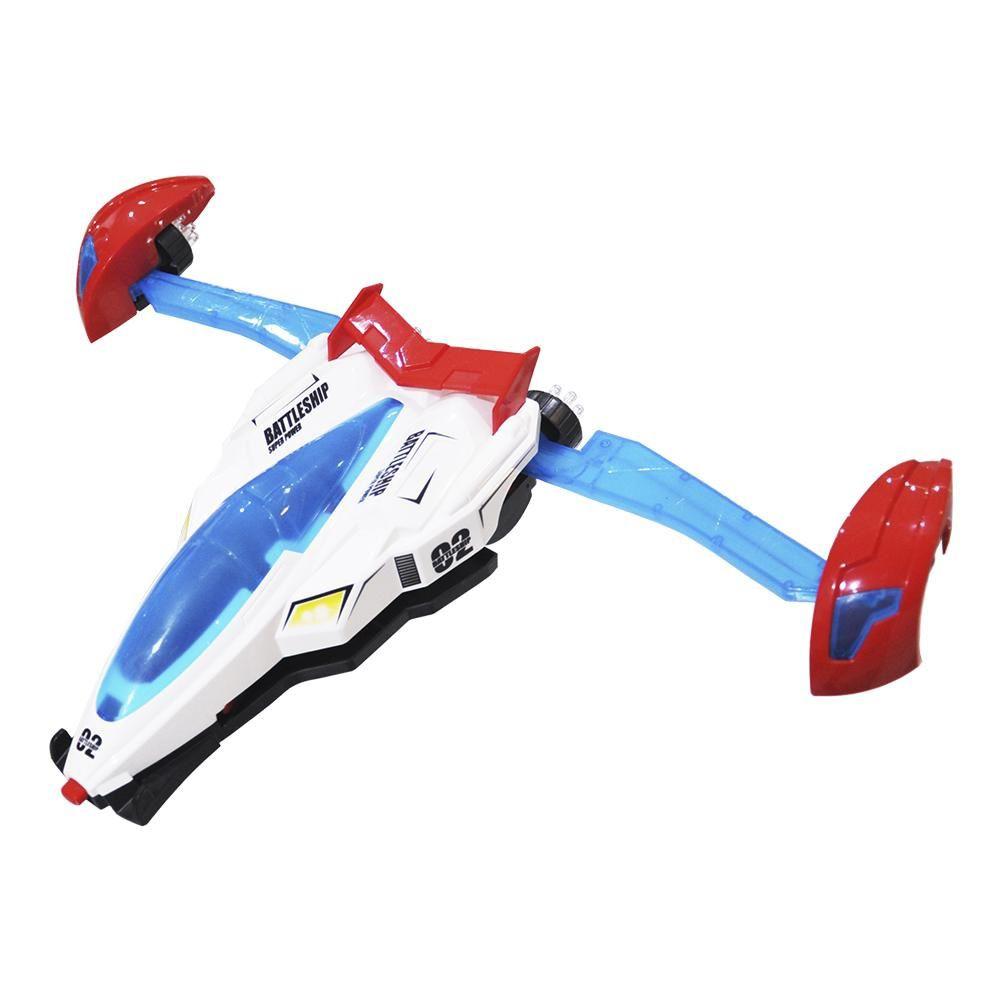 Carro Battle Bate e Volta com Luz e Som - Dm Toys