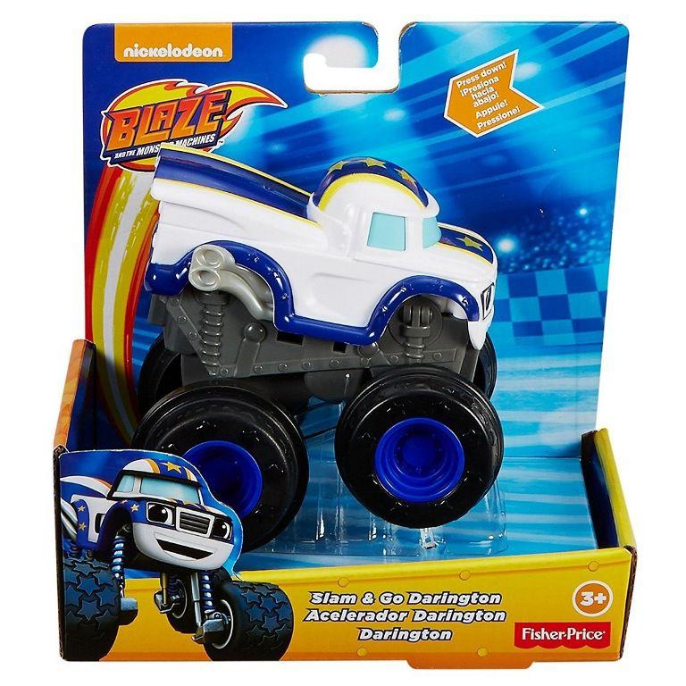 Carro Blaze Monster Machines Turbo Acelerador Fisher Price