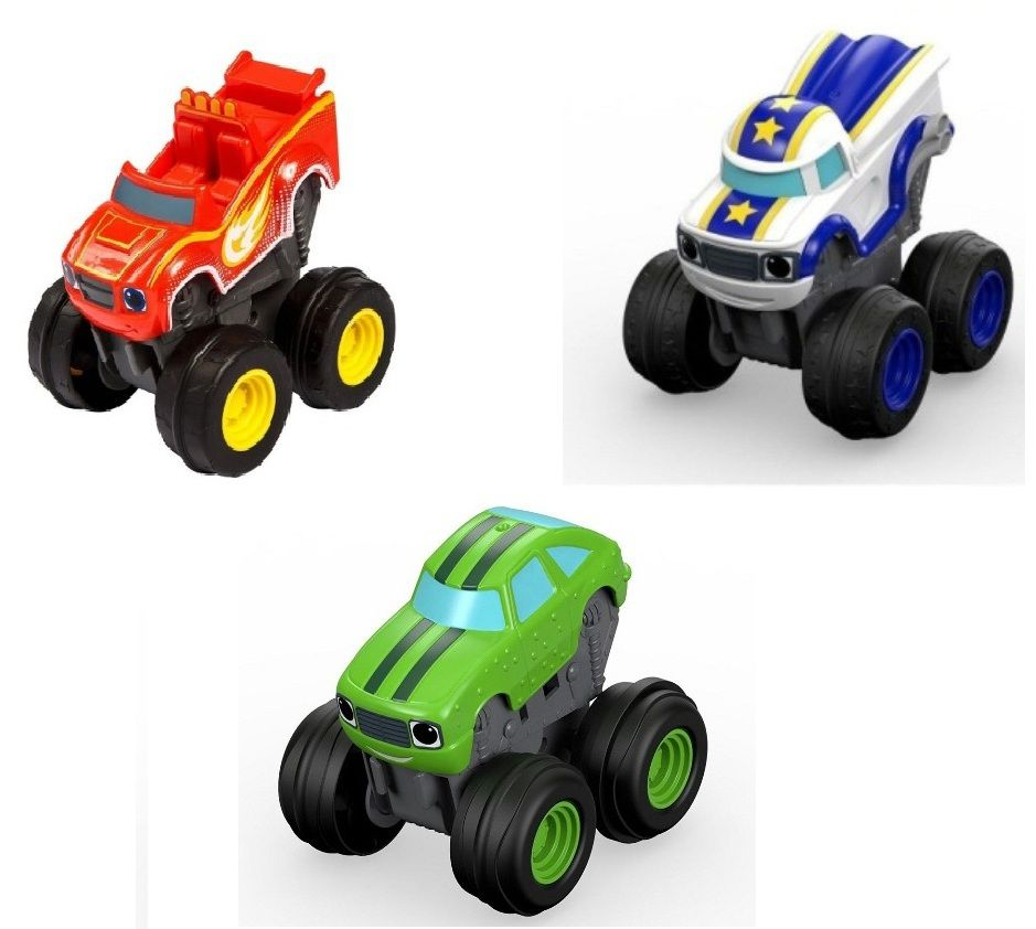 Carro Blaze Monster Machines Turbo Acelerador - Fisher-Price