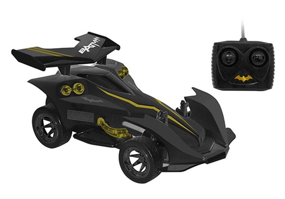 Carro Controle Remoto Batman DC Sombrio com Bateria Recarregável - Candide