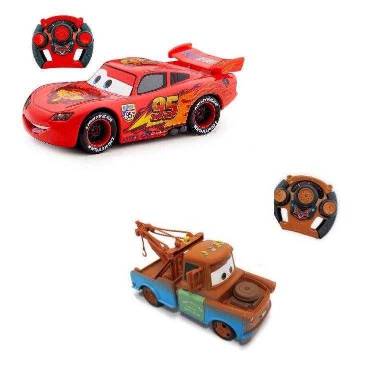 Carro Controle Remoto Big Racer Disney Carros - Toyng