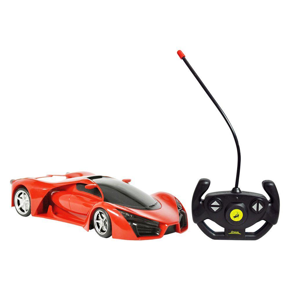 Carro Controle Remoto Sem Fio Sport Champion Escala 1:18 - Dm Toys