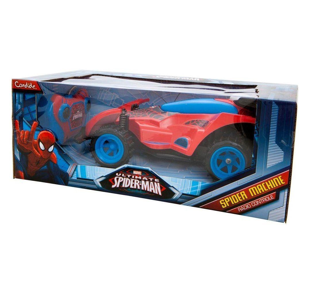 Carro Controle Remoto Spider Machine Marvel Spider Man - Candide