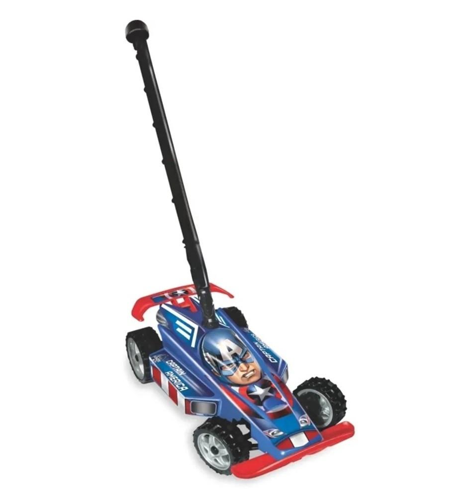Carro Hand Car Marvel Avengers Capitão América - Lider Brinquedos