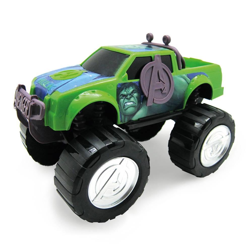 Carro Roda Livre Avengers Marvel - Toyng