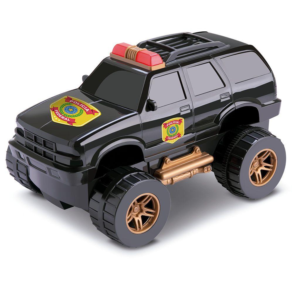 Carro Fricção SLM Selection Polícia - Silmar Brinquedos