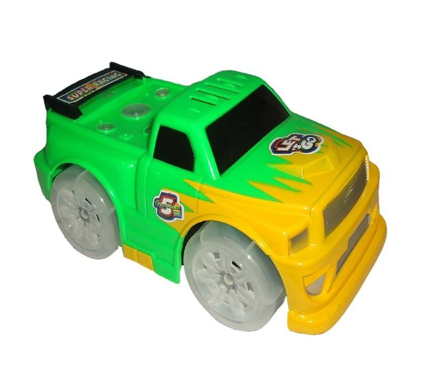 Carro Super Cartoon Car com Luz e Som Sortidos - XLS