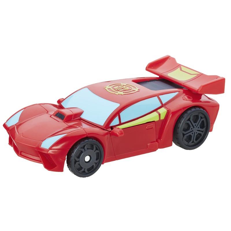 Carro transformers Rescue Bots Sideswipe Playskool Heroes - Hasbro