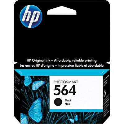 Cartucho HP Original 564 Preto - HP