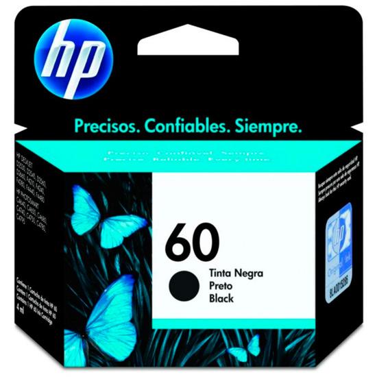 Cartucho de Tinta HP 60 Preto Original - HP