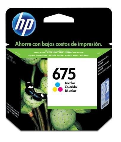 Cartucho de Tinta HP Original 675 Colorido – HP