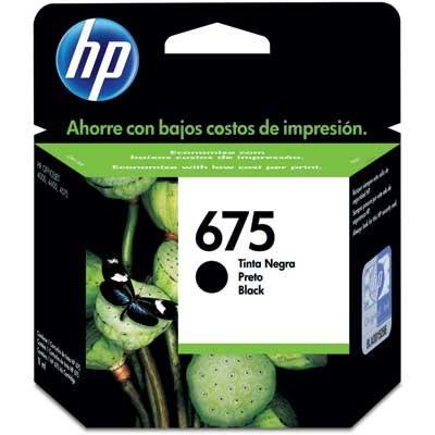 Cartucho de Tinta HP Original 675 Preto – HP