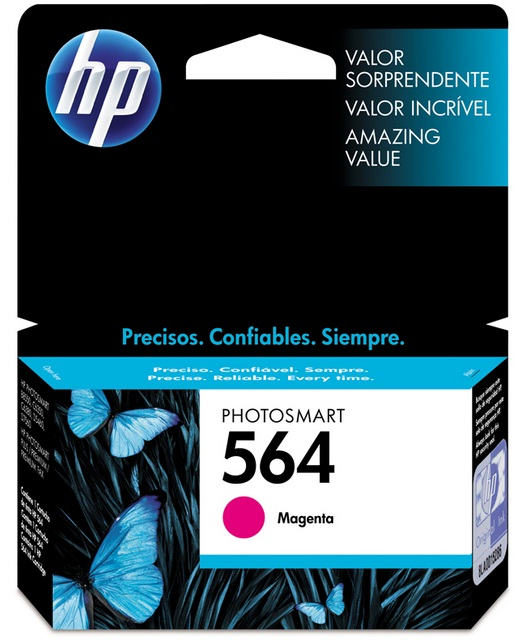 Cartucho HP Original 564 Magenta – HP