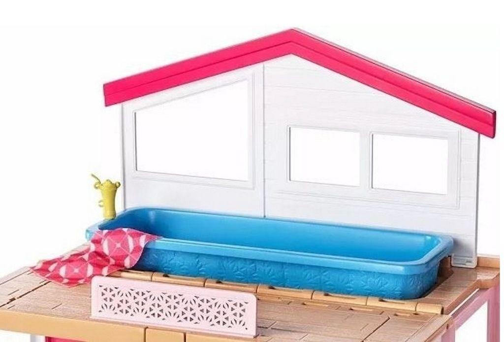 Casa da Barbie 2 Andares com Boneca - Mattel