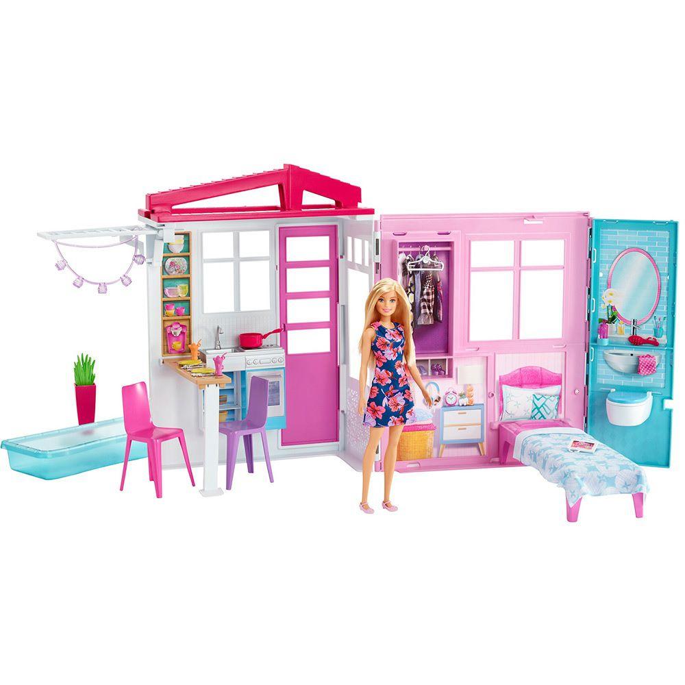 Casa da Barbie Completamente Mobiliada - Mattel