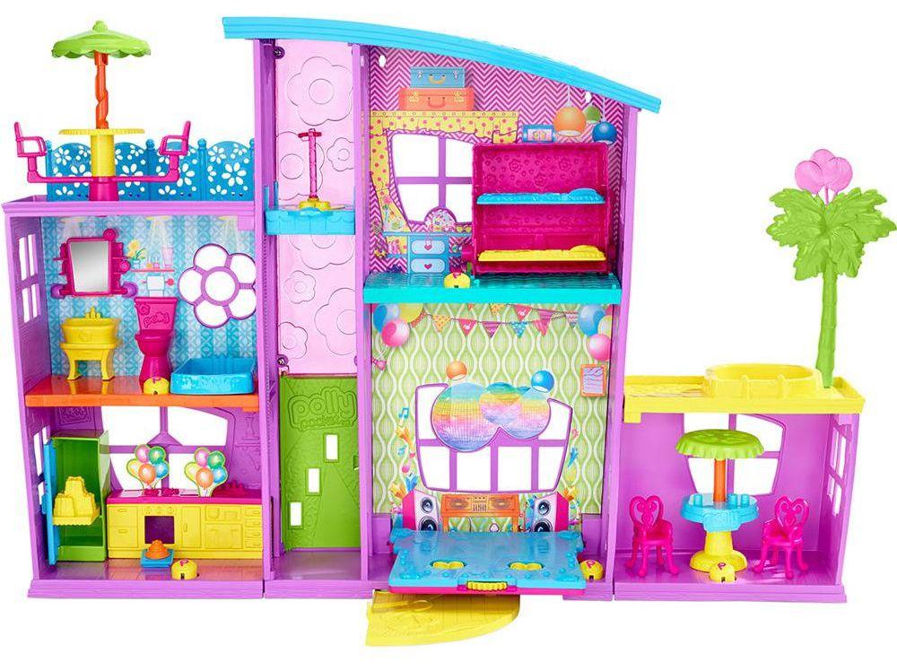 Casa da Polly de Surpresas - Mattel