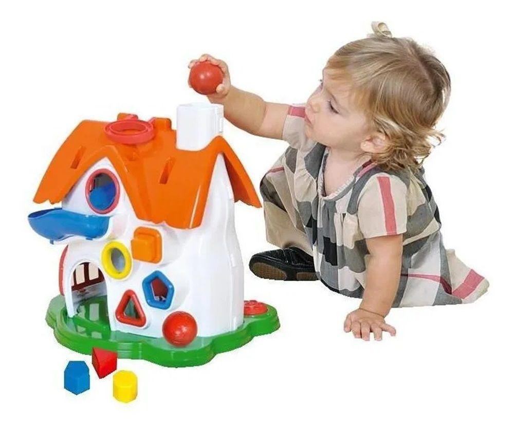 Casinha de Atividades Play Time - Cotiplás